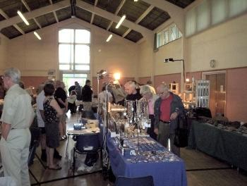 The main hall at the Show.